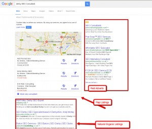 Derby search engine optimisation company